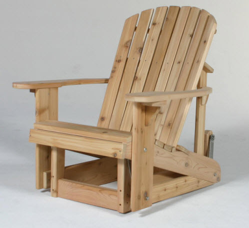 Adirondack Glider Chair Woodworking Plans